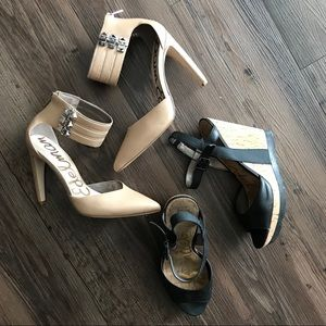 TWO PAIRS of Sam Edelman shoes (buy one get one)